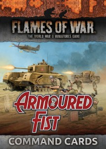 COMMAND CARDS ARMOURED FIST (British)