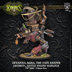 GRYMKIN BATTLE ENGINE ZEVANNA  INC RESIN