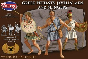 VICTRIX GREEK PELTASTS AND SLINGERS