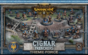 CYGNAR TRENCHER FORCE ARMY BOX