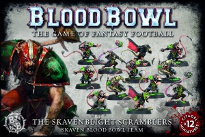 THE SKAVENBLIGHT SCRAMBLERS BLOOD BOWL TEAM