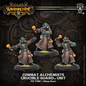 GOLDEN CRUCIBLE UNIT COMBAT ALCHEMISTS (3)