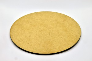 HDF BASE 130mm ROUND (1 piece)