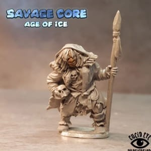 ICE AGE NEANDERTHAL BOSS LAME GETRA TRIBAL MOTHER