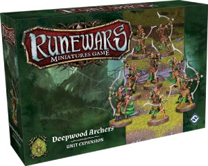 Deepwood Archers Expansion Pack: Runewars Miniatures Game