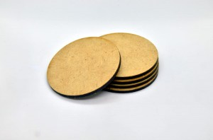 HDF BASES 60mm ROUND (5 pieces)