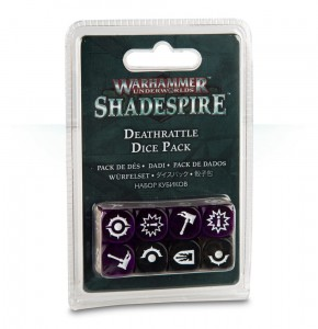 DEATHRATTLE DICE PCK