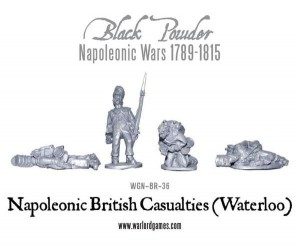 BRITISH CASUALTIES (WATERLOO)