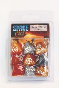 SPACE 1889: UBIQUITY DICE SET