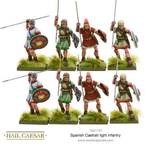 SPANISH CAETRATI LIGHT INFANTRY (8) [MADE TO ORDER]