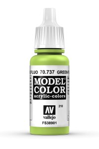 MODEL COLOR 70737 GREEN FLUO