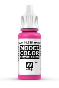 MODEL COLOR 70735 MAGENTA FLUO