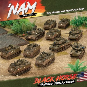 US BLACKHORSE ARMY BOX (7 X M113, 3 X M551, 1 X M48A3)