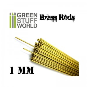 BRASS RODS 1MM PACKX5