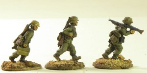 20mm Deutsche Afrika Korps LMG Team with helmets