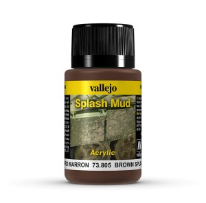 SPLASH MUD - BROWN SPLASH MUD 40 ML.