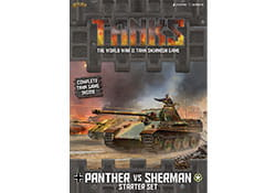 Tanks - Panther vs Sherman Starter Set