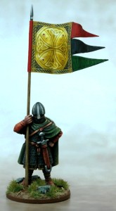 Anglo Danish Warbanner & Bearer