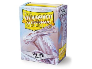 DRAGON SHIELD WHITE MATTE (100SZT.)