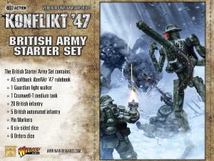 British Konflikt 47 Starter Set