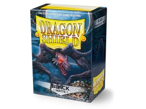 DRAGON SHIELD BLACK MATTE (100SZT.)