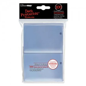 ULTRA PRO DECK PROTECTOR - SOLID CLEAR 100