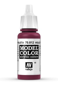 MODEL COLOR 70812 VIOLET RED