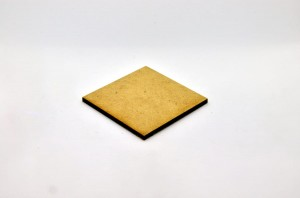 HDF BASE 50x50mm SQUARE (1 piece)