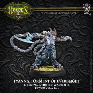 FYANNA, TORMENT OF EVERBLIGHT—LEGION STRIDER WARLOCK (METAL)