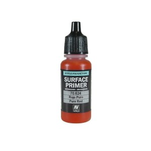 SURFACE PRIMER 17 ML. PURE RED