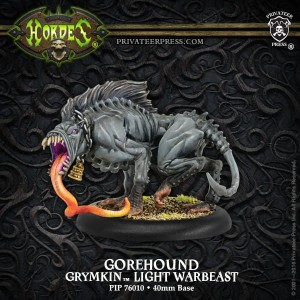 GOREHOUND – GRYMKIN LIGHT WARBEAST (PLASTIC)