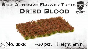 DRIED BLOOD FLOWERS 6MM