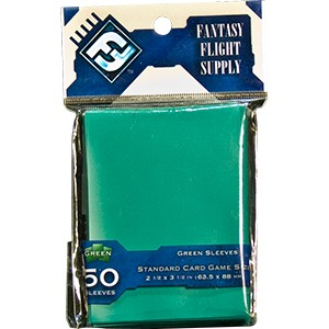 FFG STANDARD CARD GAME SLEEVES - GREEN 50