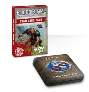 BLOOD BOWL: SKAVEN CARDS