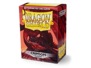 DRAGON SHIELD CRIMSON CLASSIC (100SZT.)