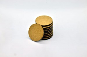 HDF BASES 32mm ROUND (10 pieces)
