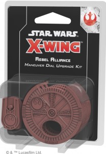 STAR WARS: X-WING - REBEL ALLIANCE MANEUVER DIAL UPGRADE KIT (DRUGA EDYCJA)