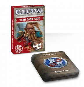 BLOOD BOWL: DWARF TEAM CARDS (ENGLISH)