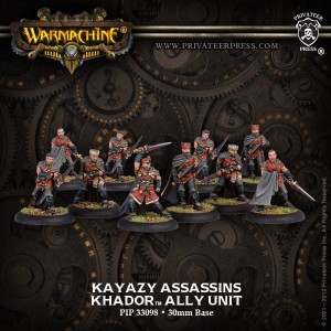 KHADOR ALLIES KAYAZY ASSASSINS (10)  REPACK