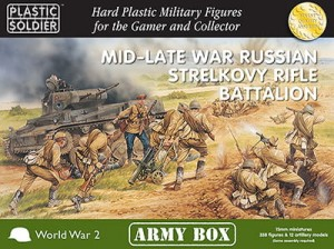 15mm Mid/Late War Russian Strelkovy Rifle Battalion