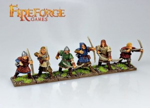 CRUSADER ARCHERS (6 INFANTRY RESIN FIGURES)