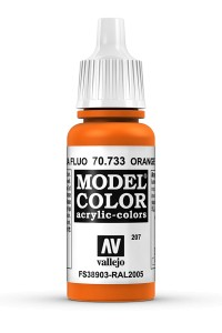 MODEL COLOR 70733 ORANGE FLUO