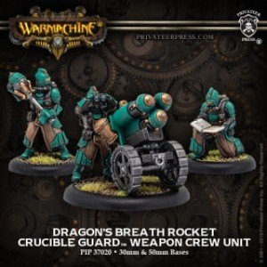 GOLDEN CRUCIBLE ROCKET WEAPON CREW DRAGONS BREATH