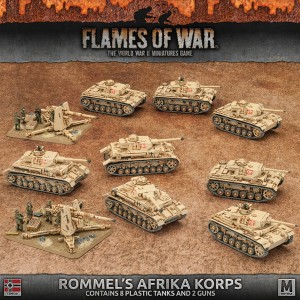 ARMY BOX: ROMMEL'S AFRIKA KORPS (ALL PLASTIC)