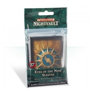 WH UNDERWORLDS: EYES OF THE NINE SLEEVES