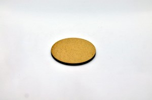 HDF BASE 50mm ROUND (1 piece)