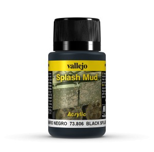 SPLASH MUD - BLACK SPLASH MUD 40 ML.