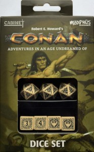 CONAN: PLAYER'S DICE SET