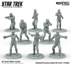Romulan Strike Team (8 x 32mm Miniatures)