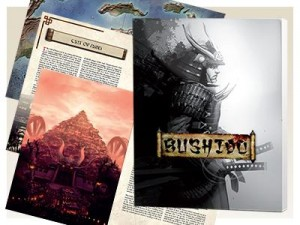 BUSHIDO NEW DAWN RULE BOOK (128PG SOFT COVER)